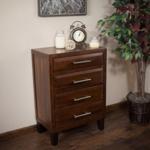 Christopher Knight Home Luna Acacia Wood Four Drawer Chest