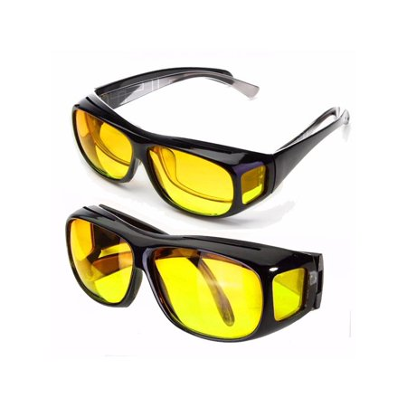 Unisex HD Lenses Sunglasses UV Protection Night Vision Driving Sports Goggles Driving Glasses - Uv Halloween Contact Lenses