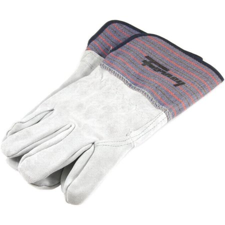 Forney 55199 Economy Industrial Welding Gloves, Men?s, Large, Kevlar, Gray/Blue, Cotton Lining