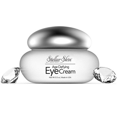 Eye Cream with Hyaluronic Acid - Anti Aging Moisturizer and Wrinkle Creams for Fine Lines Around Eyes, Best Eye Gel Treatment for Under Eye Dark Circles and
