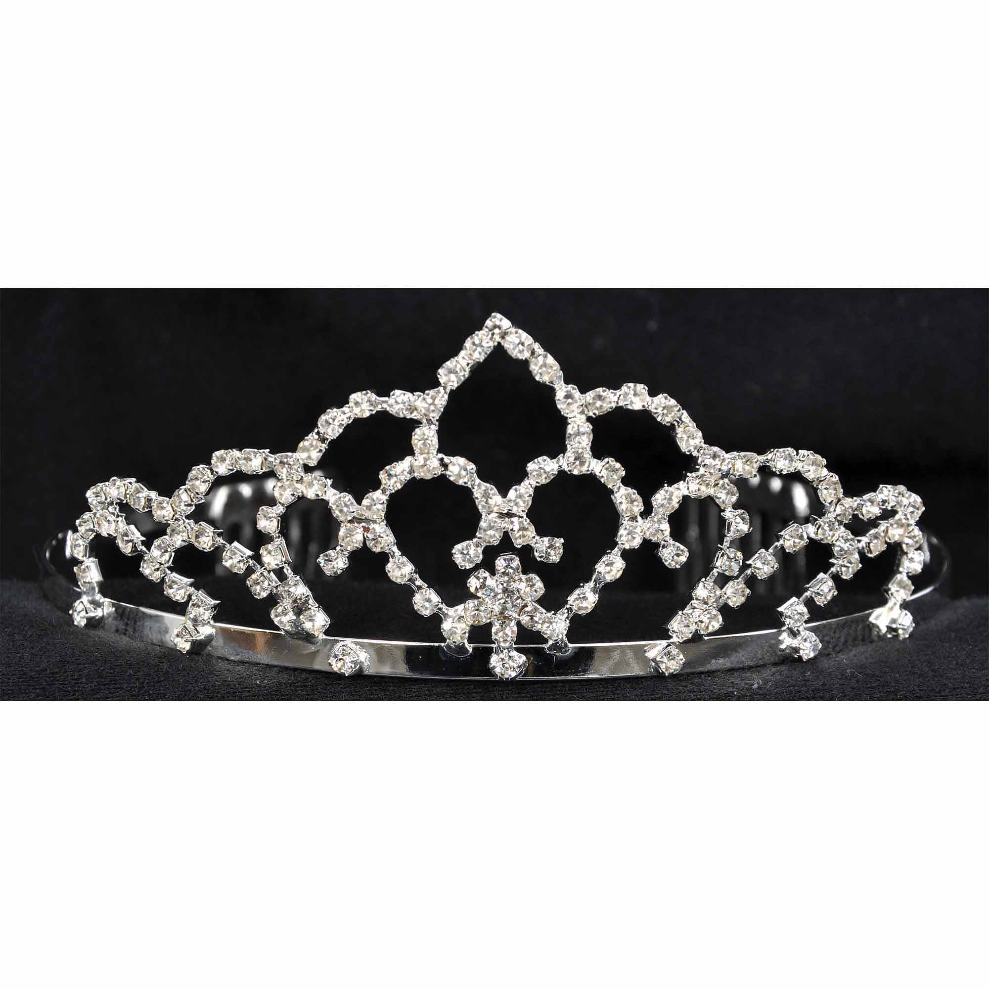 "2-1/4"" Tiara Child Halloween Accessory"
