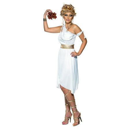 Greek Goddess Adult Costume - Small (Make Your Own Greek Goddess Costume)