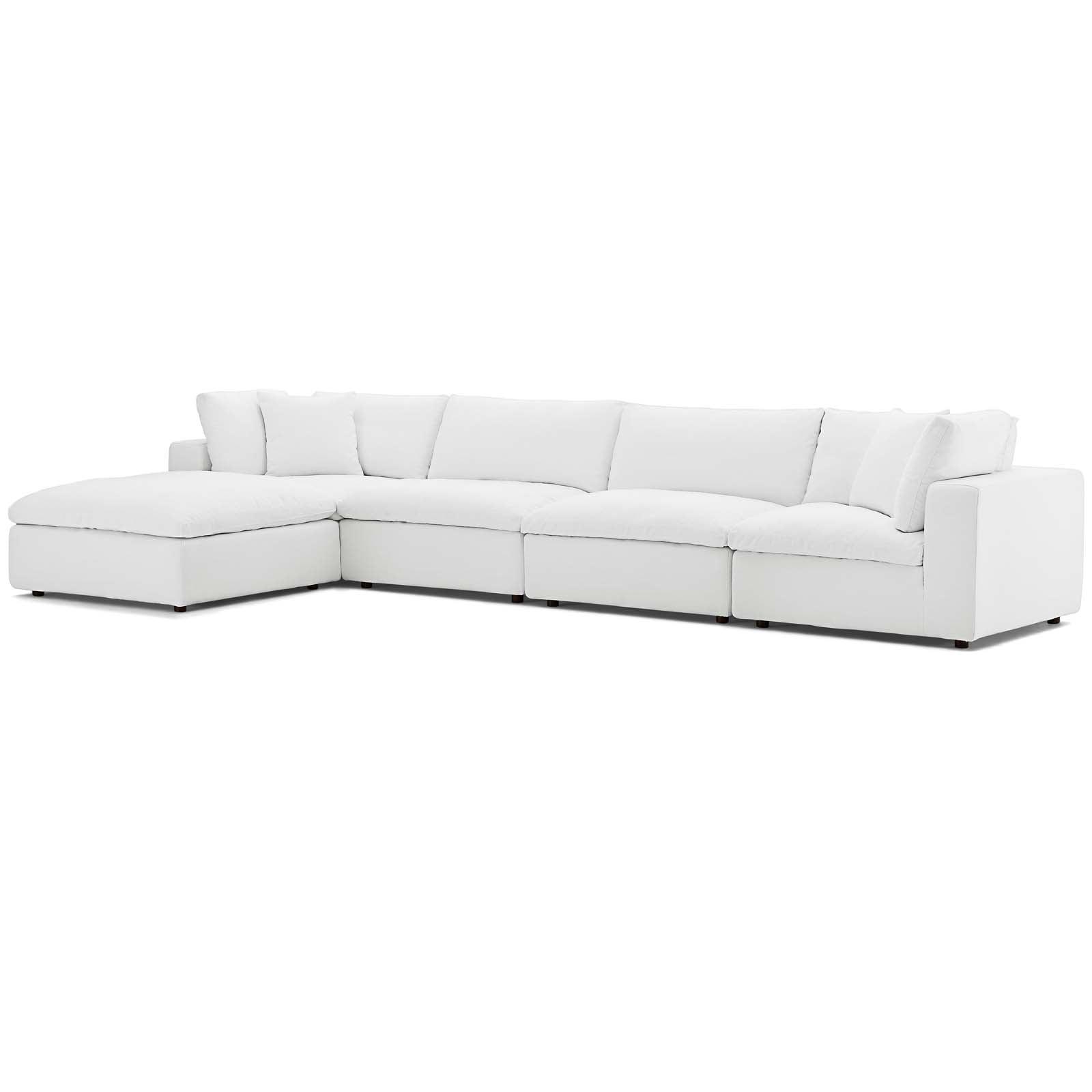 Astounding Modern Contemporary Urban Design Living Room Lounge Club Lobby Sectional Sofa Set Fabric White Pabps2019 Chair Design Images Pabps2019Com