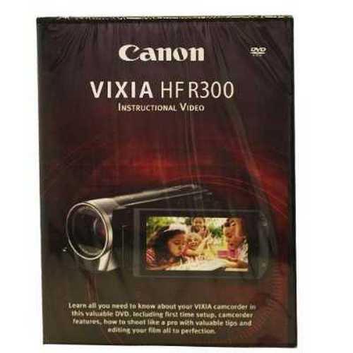 Refurbished Canon VIXIA HF R300 Instructional Video DVD