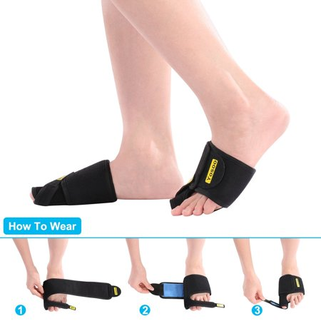 Yosoo Bunion Correctors 1 Pair Adjustable Soft Bunion Splints Brace Big Toe Straighteners Separators Nighttime Relief For Hallux Valgus