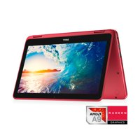 """Dell Inspiron 11 3185 2-in-1 Laptop, 11.6"""", AMD A9, 4GB 2400MHz DDR4, 500 GB HDD, Integrated Graphics, Windows 10"""