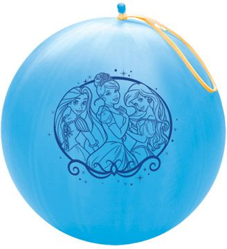 Party Supplies - Pioneer Punch Balls Balloons 1 ct/Each Disney Princess 98787