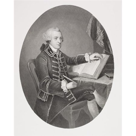 John Hancock 1737 - 1793 American Revolutionary Leader Signatory Of Declaration Of Independence From The Book Gallery Of Historical Portraits Published C1880 PosterPrint
