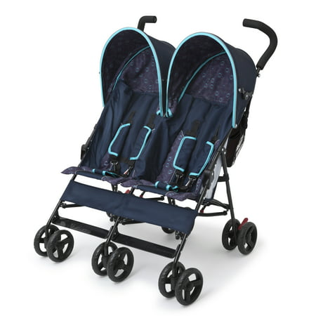 Delta Children LX Side by Side Double Stroller, Night - Kolcraft Double Strollers