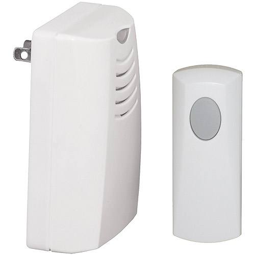 honeywell plugin wireless door chime and push button
