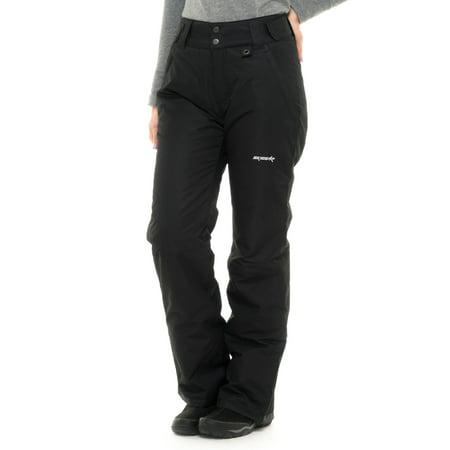 Ski Gear by Arctix Women's Snow Pants, Black,