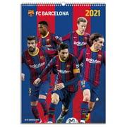 Barcelona Calendar 2021,Official FC Barcelona Wall Calendar (11.5 In x 16.5 In)