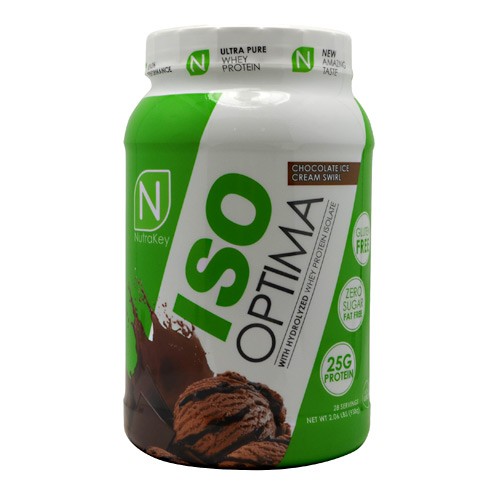 Nutrakey Iso Optima, Chocolate Ice Cream Swirl, 2.3 lbs