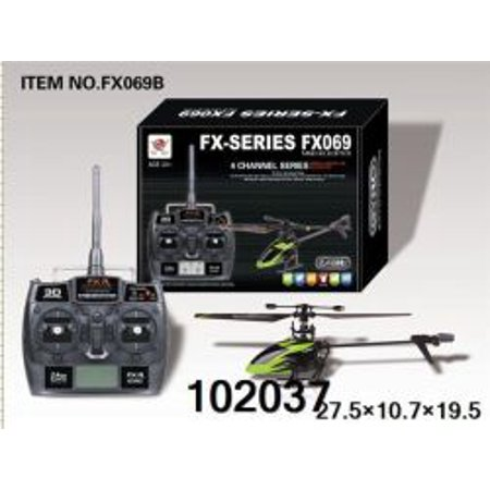 4 Channel Fly Bar Less Radio Control Helicopter](4 Channel Helicopter)