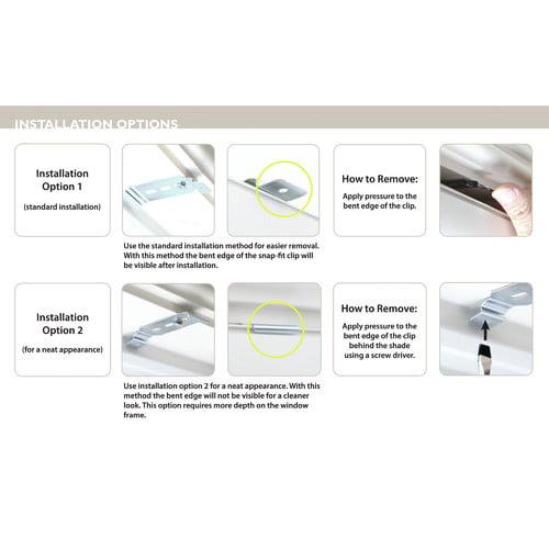 Best Home Fashion, Inc. Premium Linen Look Window Roller Shade