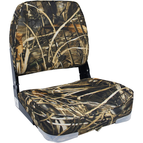Attwood Econo Low-Back Boat Seat, Greenmax