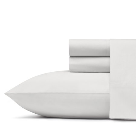 Poppies Thread - Poppy & Fritz Solid Antarctica Charcoal Sheet Set, Full