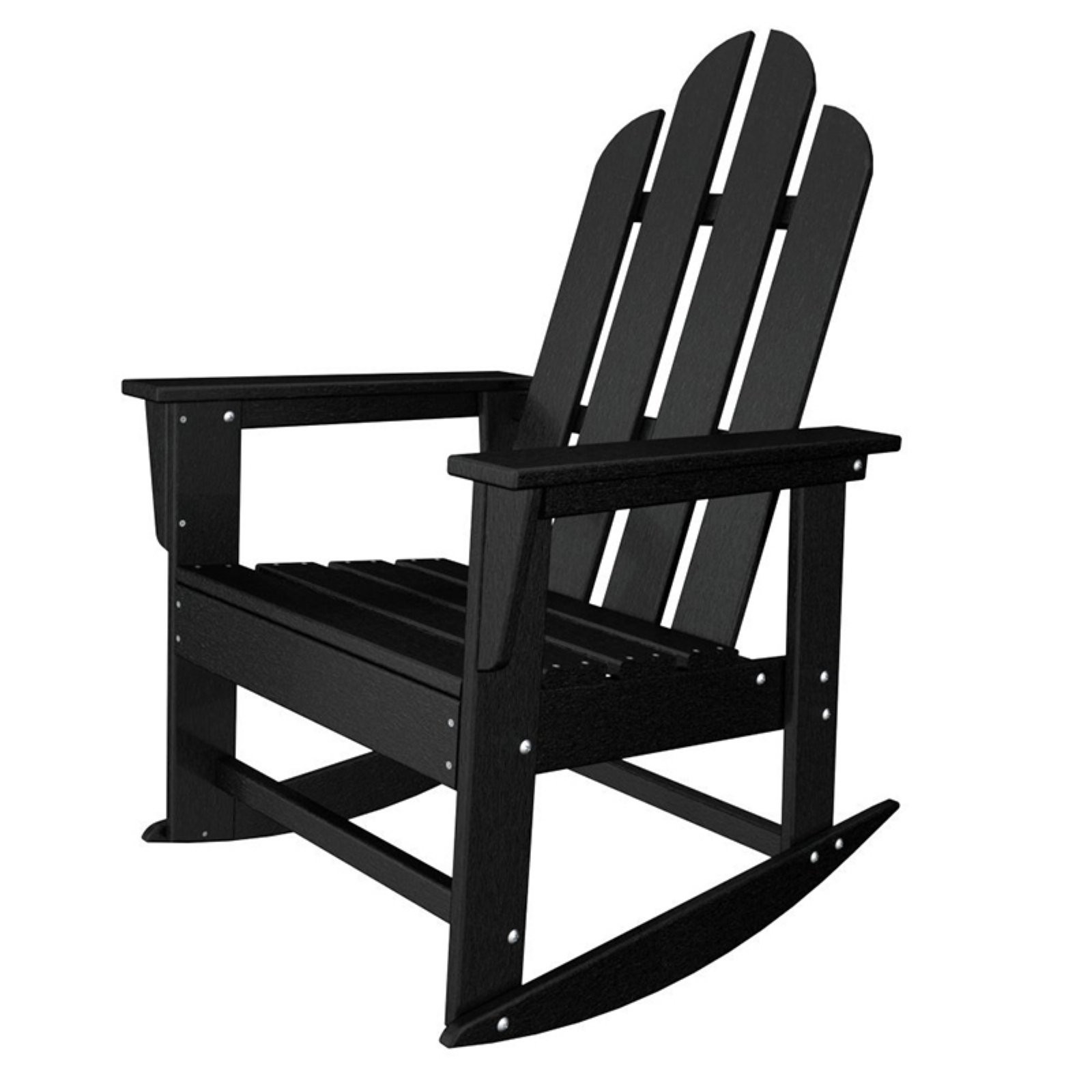 POLYWOOD® Long Island Recycled Plastic Adirondack Rocking Chair