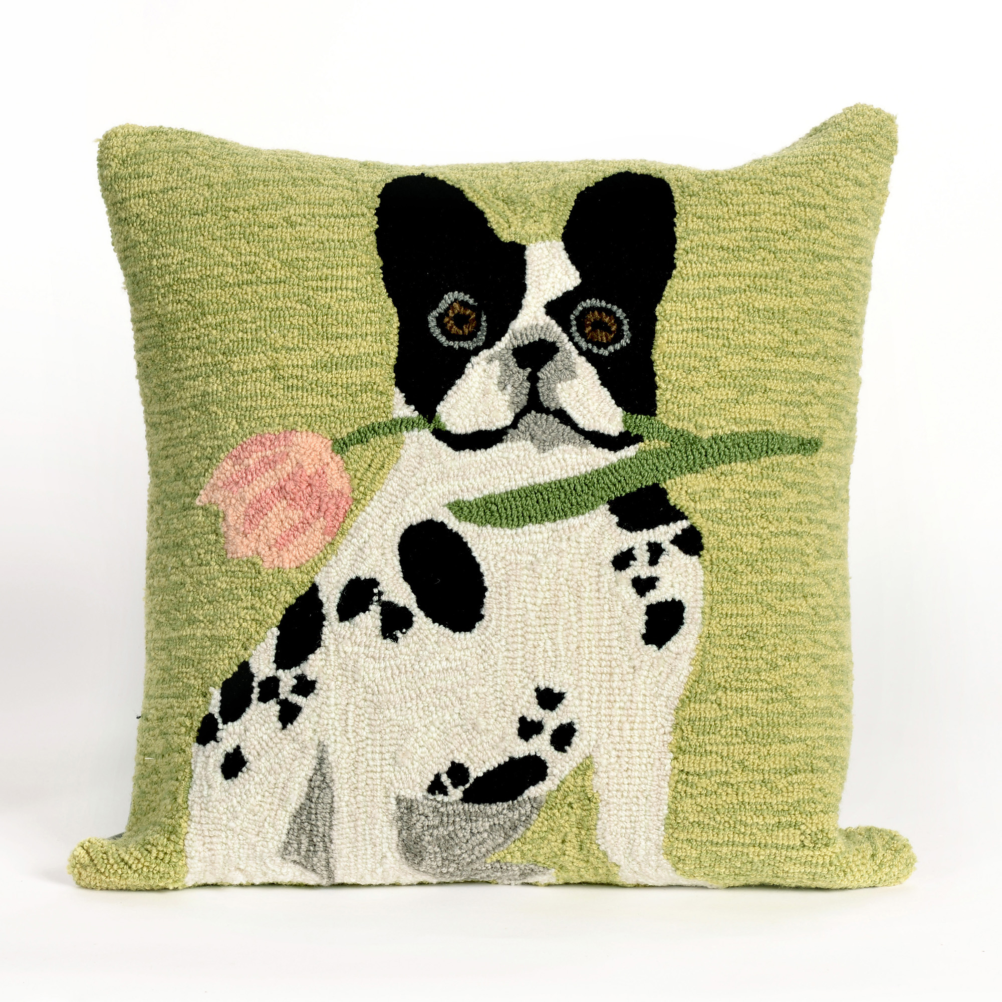 Liora Manne Frontporch Flowery Frenchy Throw Pillow
