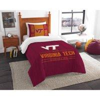 "NCAA Virginia Tech Hokies ""Modern Take"" Bedding Comforter Set"
