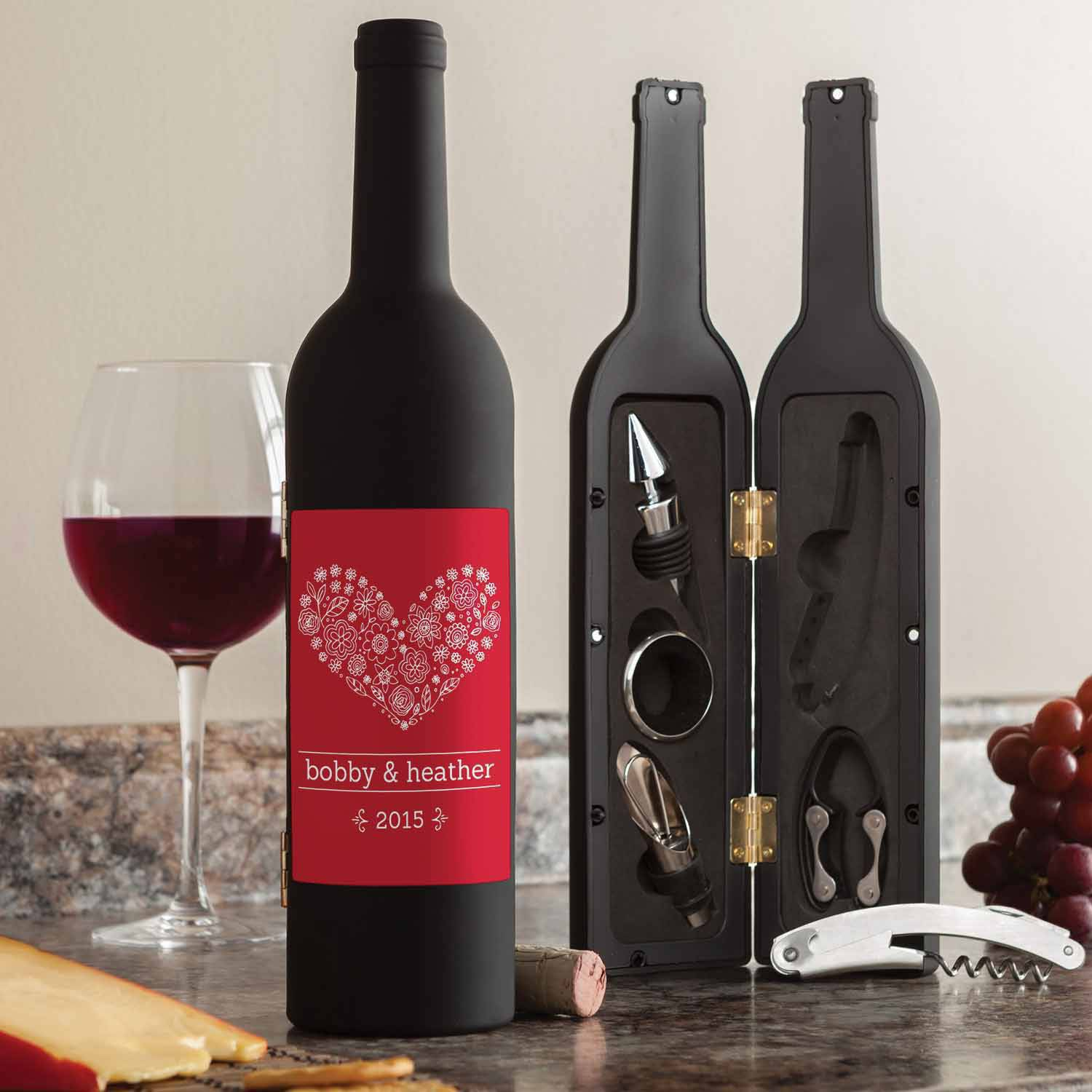 Personalized Wine Kit - The Perfect Couple
