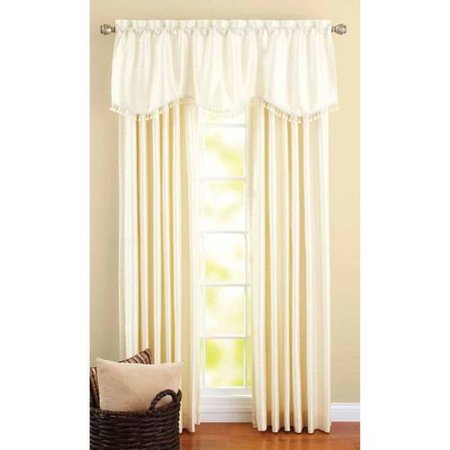 Better homes and gardens crushed taffeta window curtains Better homes and gardens valances for small windows