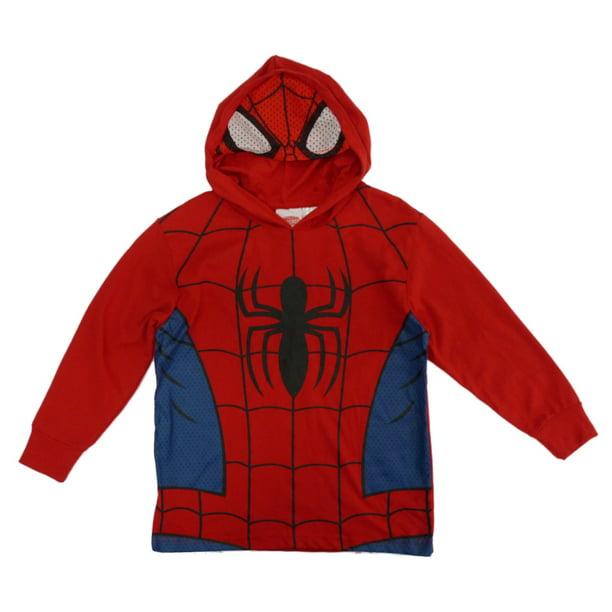 *NEW* Marvel Comics Long Sleeved Hooded Boys Shirt