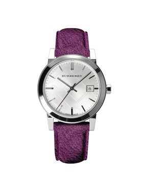 Burberry Women's The City Leather Analog Quartz 34mm Watches