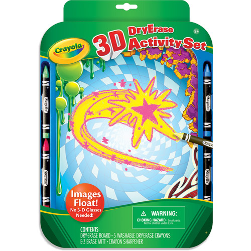 Crayola Dry Erase 3-D Activity Set