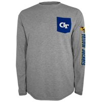 "Georgia Tech Yellowjackets NCAA Champion ""Extra Point"" Men's L/S Pocket T-Shirt"