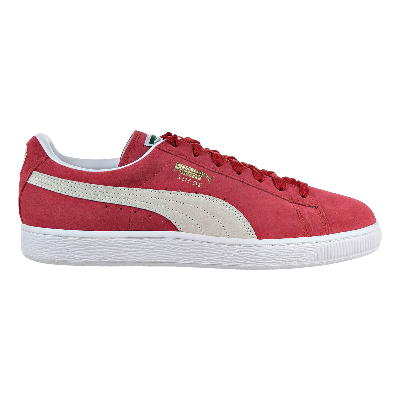 Puma Suede Classic+ Mens Shoe Team Regal Red/White 352634-05
