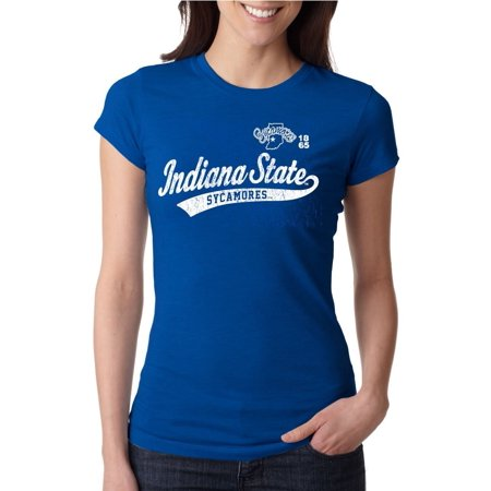 - J2 Sport Indiana State Sycamores NCAA Juniors Sports Tail T-shirt