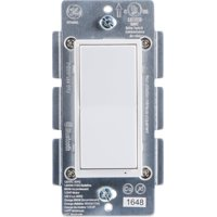 GE Bluetooth In-Wall Smart Paddle Switch, No Hub Required, 13869
