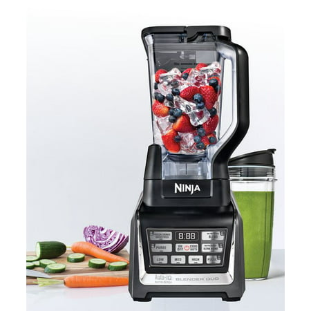 Ninja Megaphone - Ninja DUO with Auto-iQ 7 Speed Blender Black (BL641)