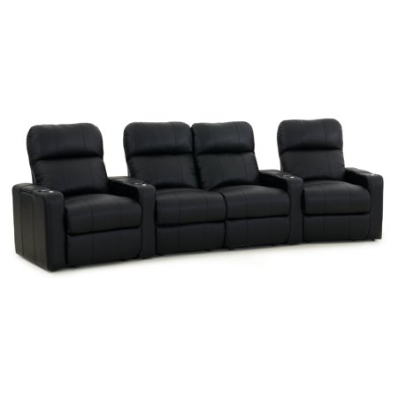 Octane Seating Octane Turbo Seater Middle Loveseat Curved Power Recline