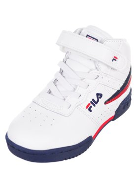 ba7822b38860 Product Image Fila Boys  F-13 Hi-Top Sneakers (Sizes 6 ...