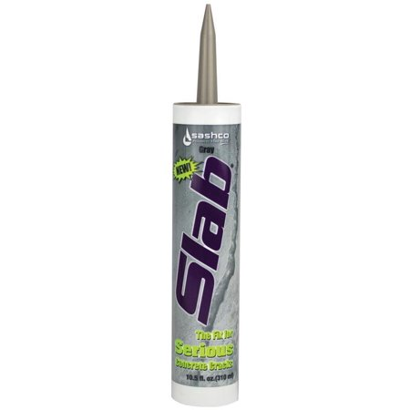 Sashco 16210 Slab Concrete Crack Repair Sealant, Water-Based, 10.5 - Repair Cracks Mortar