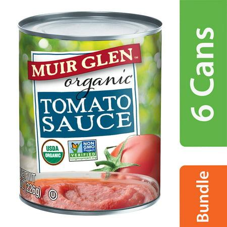 (6 Pack) Muir Glen Organic Tomato Sauce, 8 oz for $<!---->