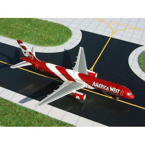 Gemini Jets Diecast America West B757-200 Arizona Cardinals Model Airplane