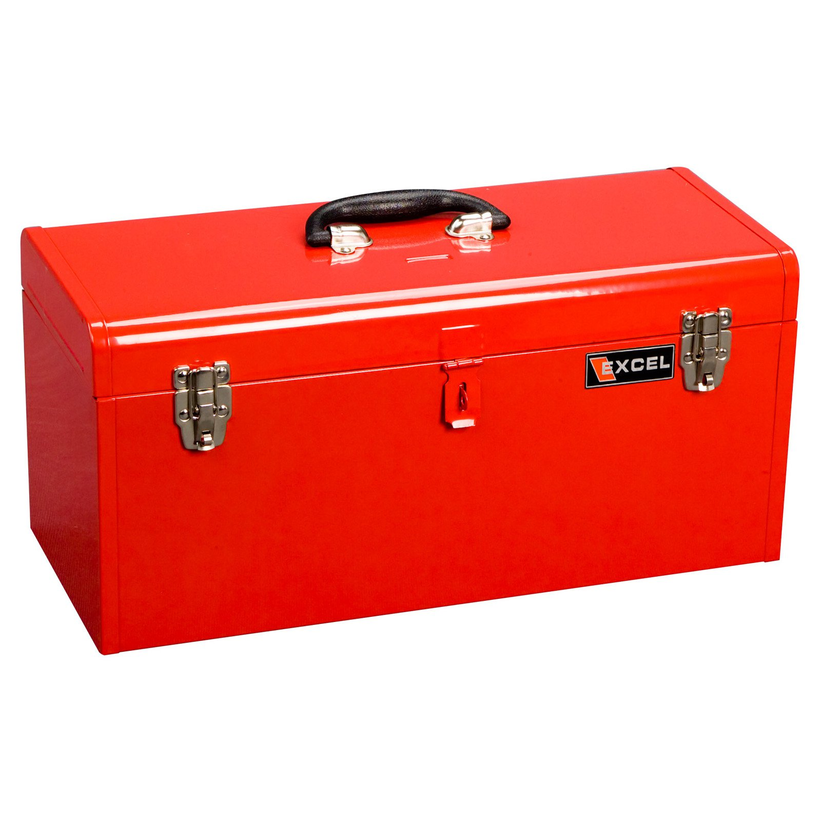Excel 20 in. Portable Lift-out Tray Steel Tool Box