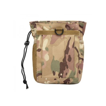 MarinaVida Tactical Military Airsoft Small Molle Mag DUMP Ammo Utility Pouch Bag Backpack 6 Mag Pouch
