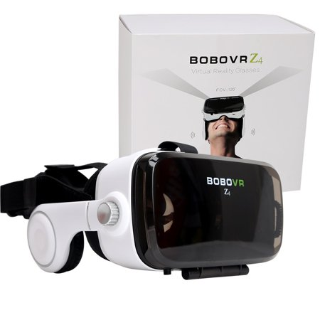 green-l 3d z4 vr virtual reality headset with headphone and adjustable lens and strap for iphone 5 5s 6 plus samsung s3 edge note 4 and 4.0-6.2 inch