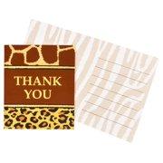 Safari Adventure Party Thank-You Notes