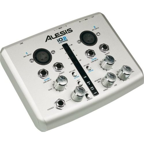 Alesis Io2express 24 Bit Usb Recording Interface