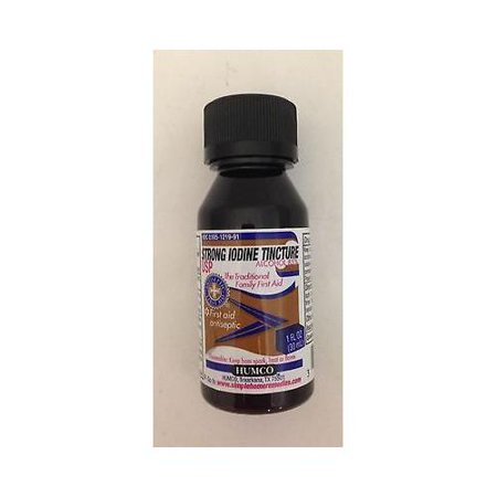 Humco Strong 7  Iodine Tincture Usp 1 Oz   Best Deal