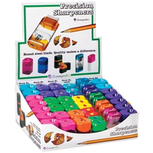 Baumgartens Retail Display Kit Pencil Sharpener Assorted Colors (15592)