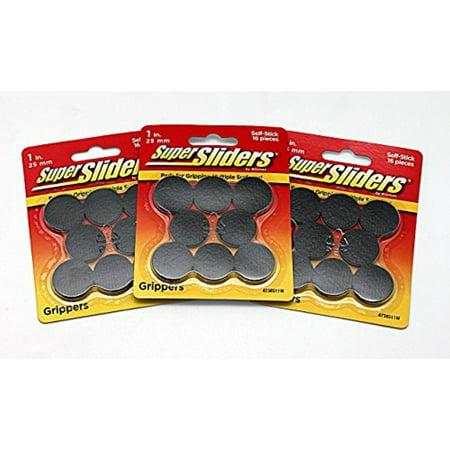 Super Sliders Gripper Pads 16pc (3-PACK) (Super Gripper)