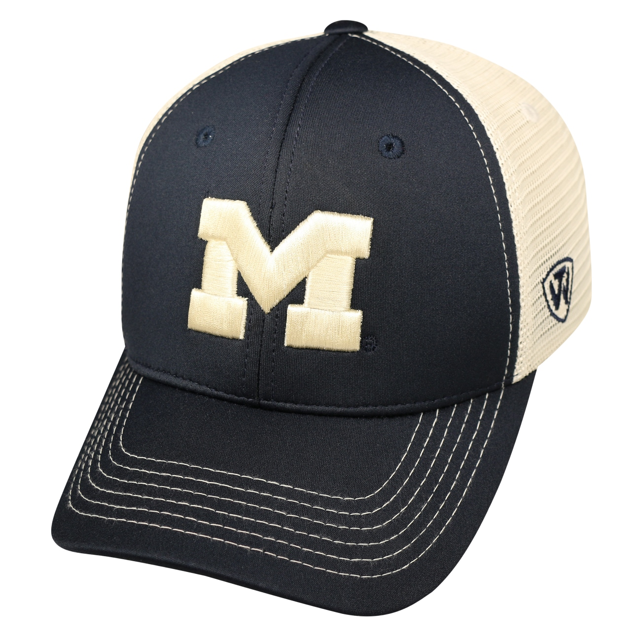 "Michigan Wolverines NCAA TOW ""Ranger"" Adjustable Performance Mesh Hat"