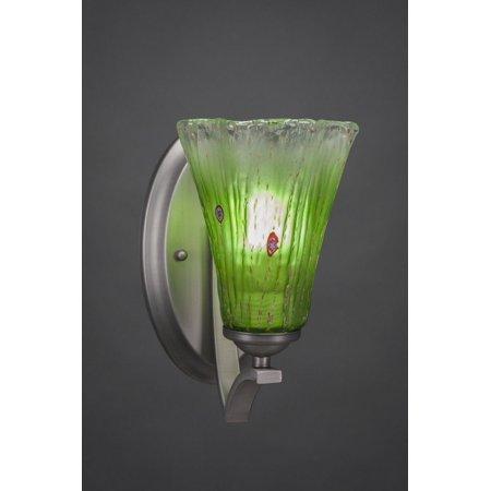 Toltec Lighting-551-GP-723-Zilo - 5.5 One Light Wall Sconce  Graphite