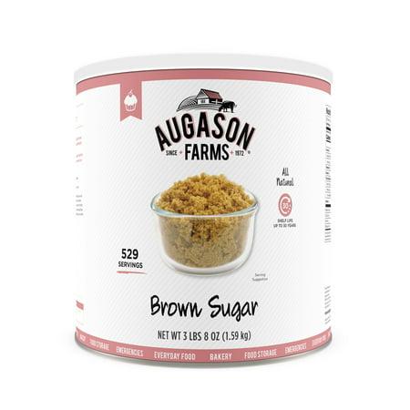 Augason Farms Brown Sugar 3 lbs 8 oz No. 10 Can